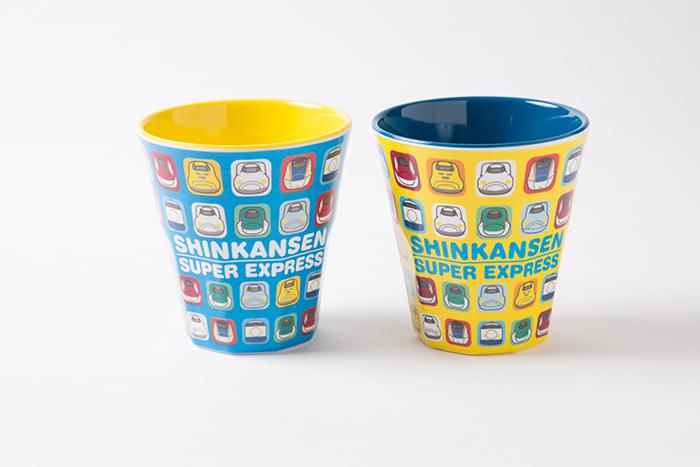 新幹線集合メラミンカップ