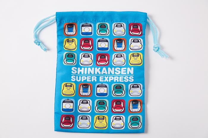 新幹線集合コップ袋