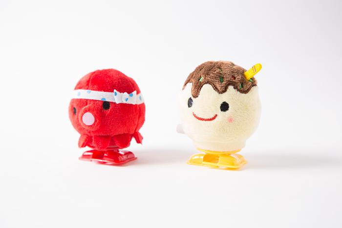 大阪限定たこ焼き&タコちゃん「ゼンマイマスコット」