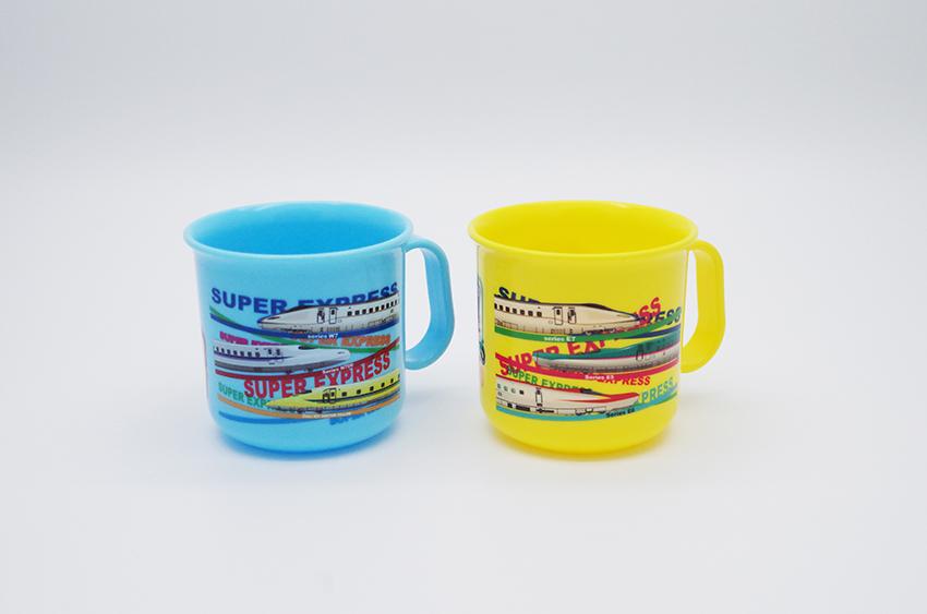 新幹線集合プラカップ