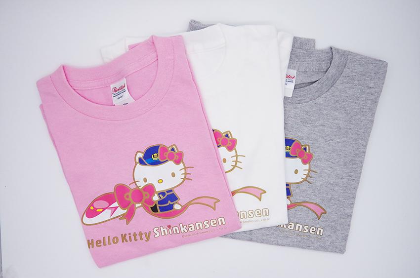 ハローキティ新幹線 Tシャツ(キッズ用)